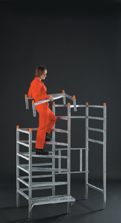 easy step treppe aufbau