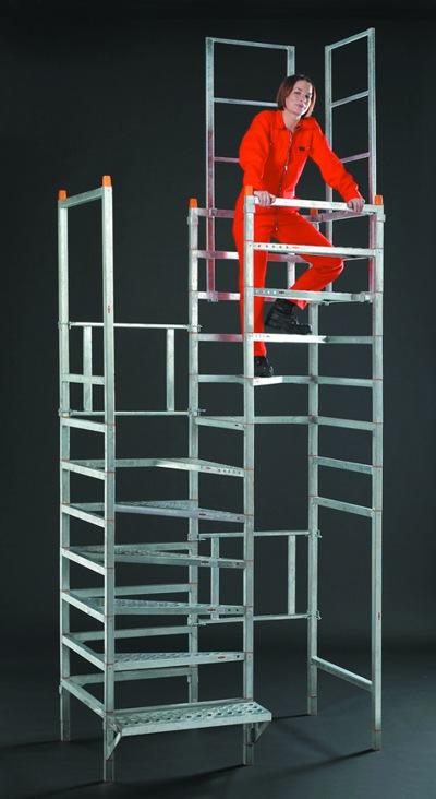 easy-step system-rohbau-treppe aufbau