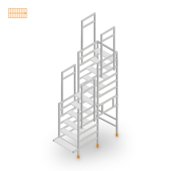 Easy-Step Shop Bautreppe gerade